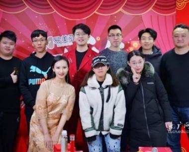 我校广播电视学院学生团队再次执导山东交广新春盛典!